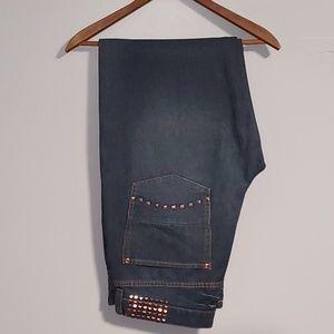 *Sean John* Clayton Dark Denim Jeans